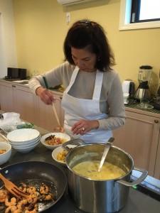 ハーブと野菜たっぷりの優しいスープ
